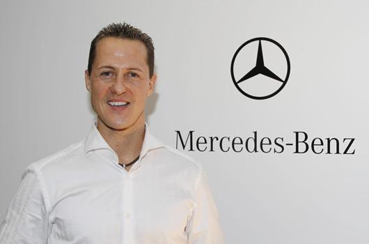Michael Schumacher signs with Mercedes GP