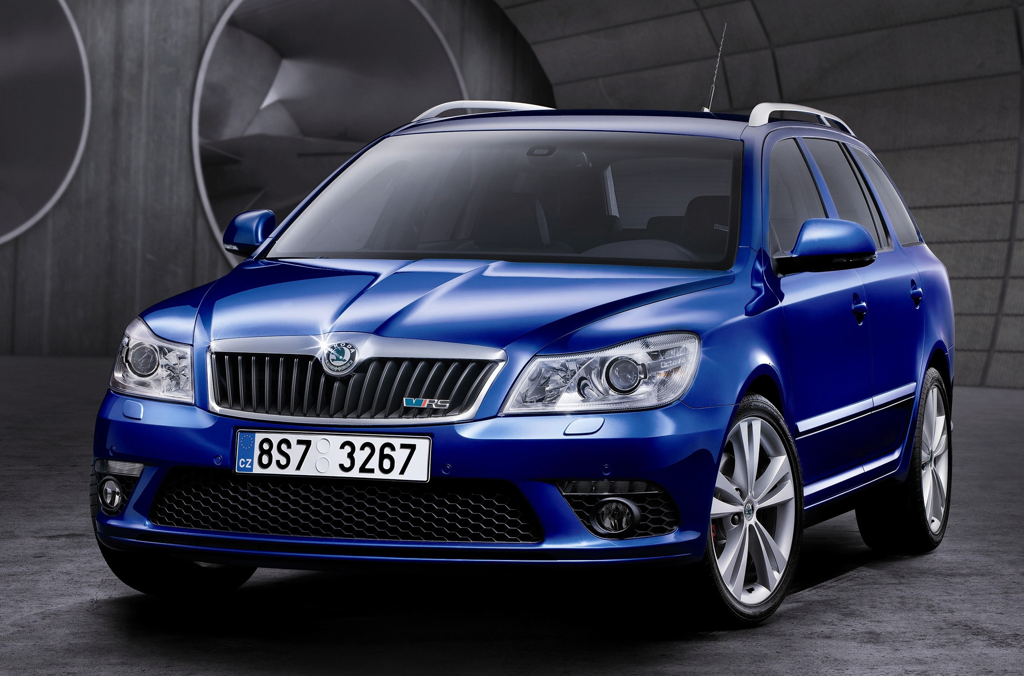 skoda octavia vrs diesel estate 2009. Black Bedroom Furniture Sets. Home Design Ideas