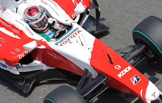 Jarno Trulli at the 2009 Spanish Grand Prix