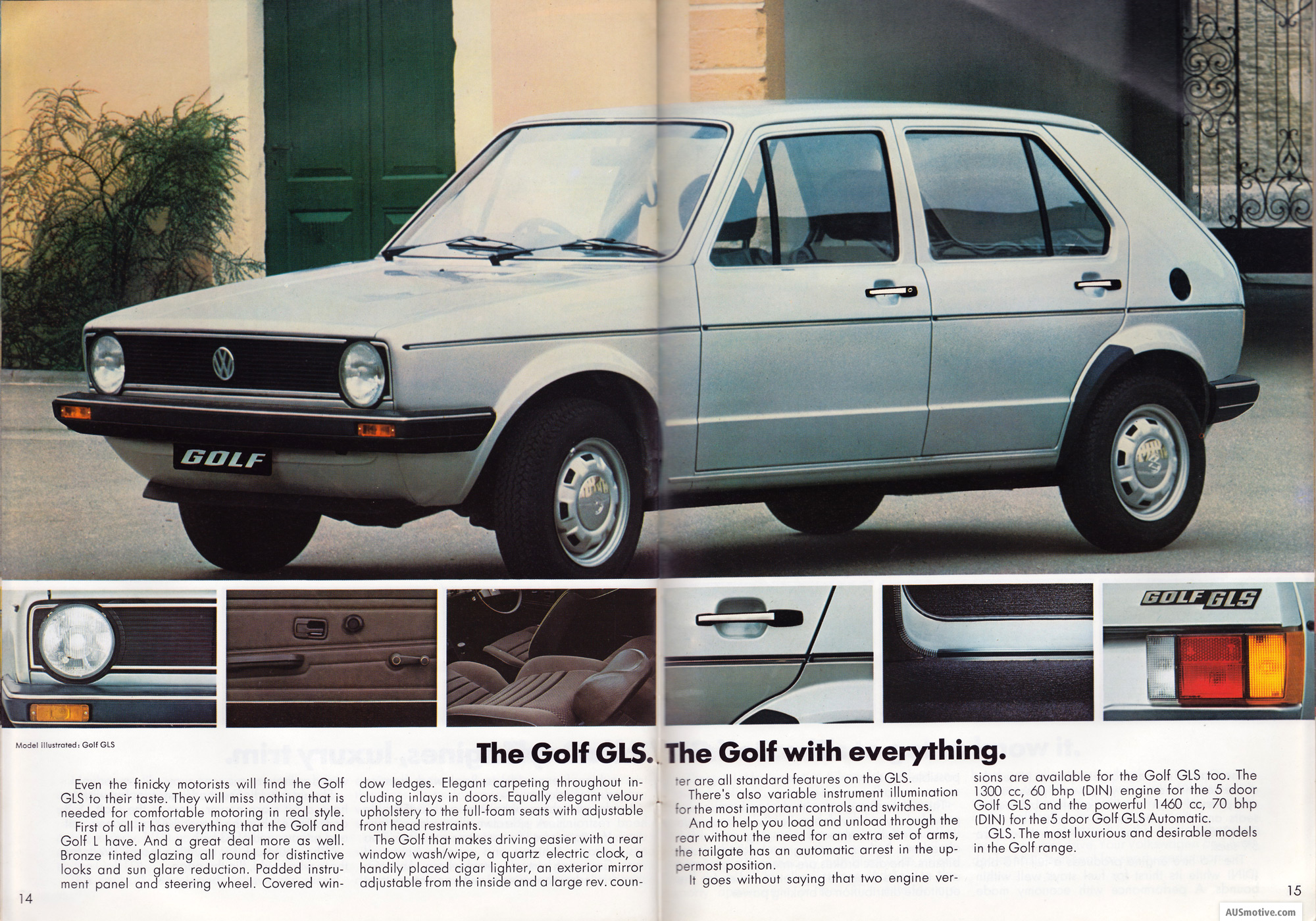 ausmotive com  u00bb volkswagen golf brochure  u2013 1980