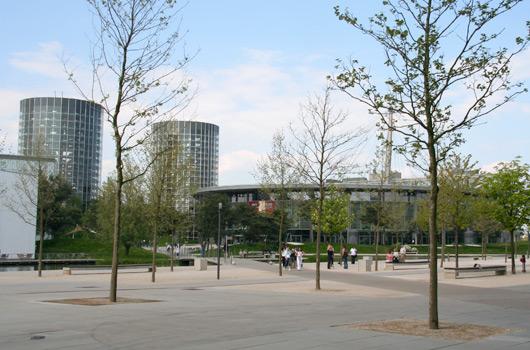 Volkswagen's Autostadt in Wolfsburg