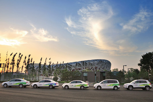 Volkswagen official automotive partner for 2008 Olympic Games in Beijing