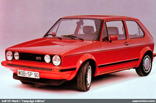 1983 Volkswagen Golf GTI Pirelli. Source: VWvortex & autoblog