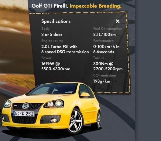 AUSmotivecom  Volkswagen Australia launches Golf GTI Pirelli