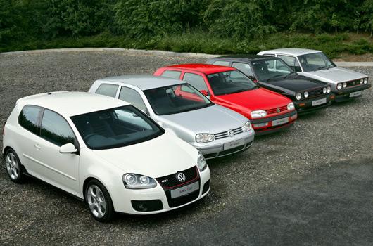 Volkswagen GTI - first five generations