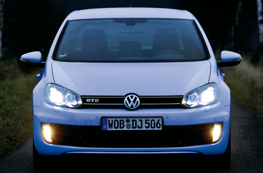 Golf VI now available with LED rear lights