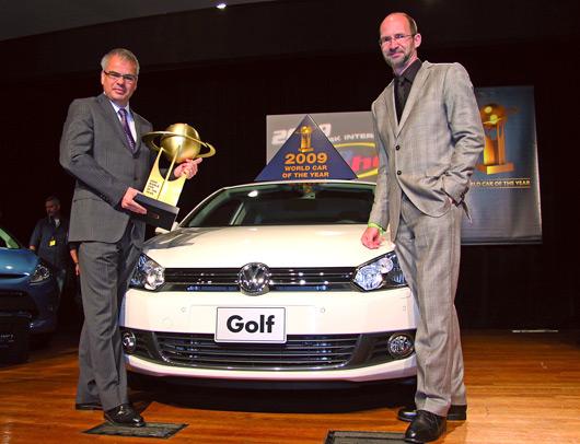 Golf VI wins WCOTY 2009