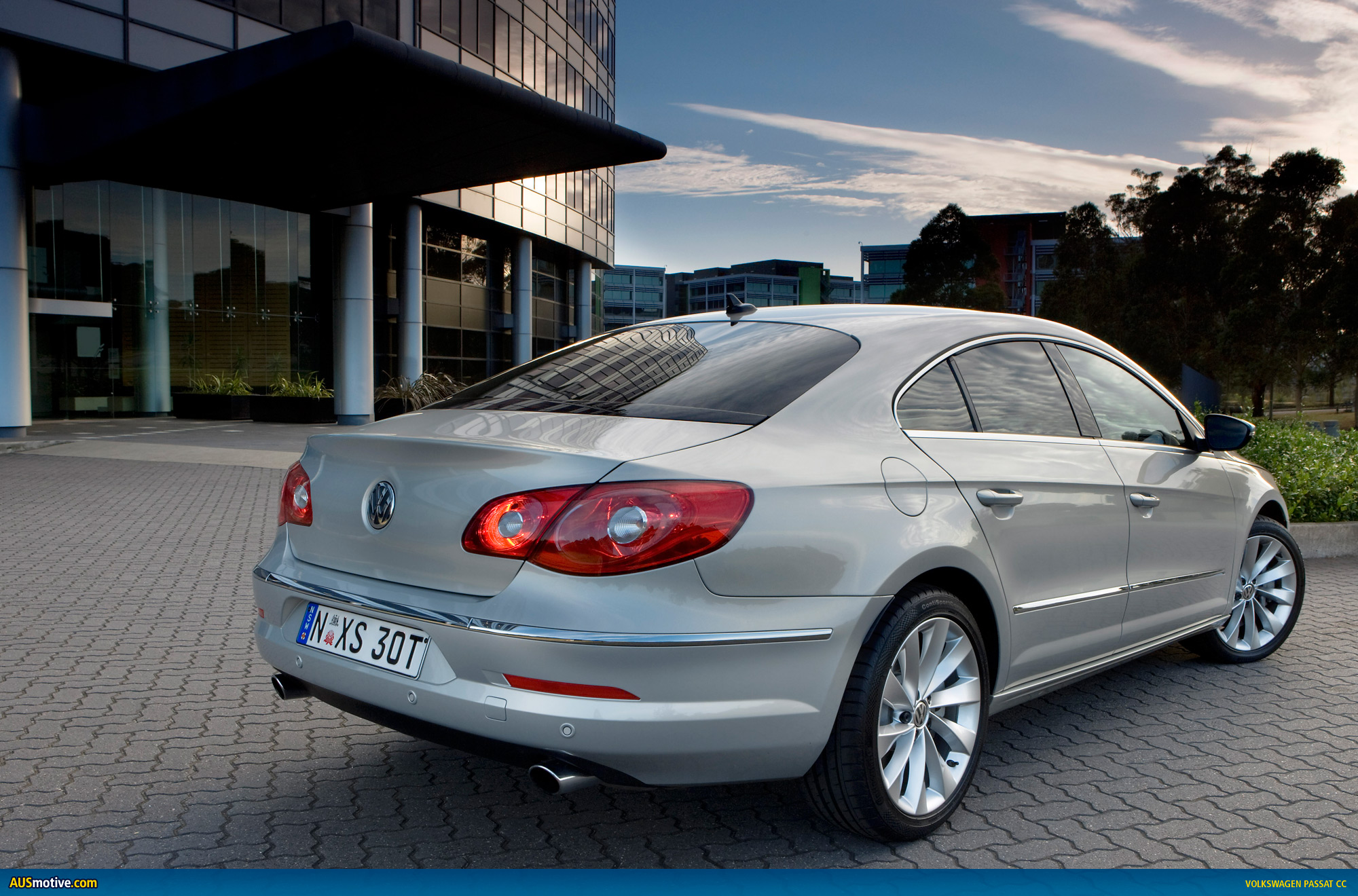 volkswagen passat cc now in australian showrooms. Black Bedroom Furniture Sets. Home Design Ideas