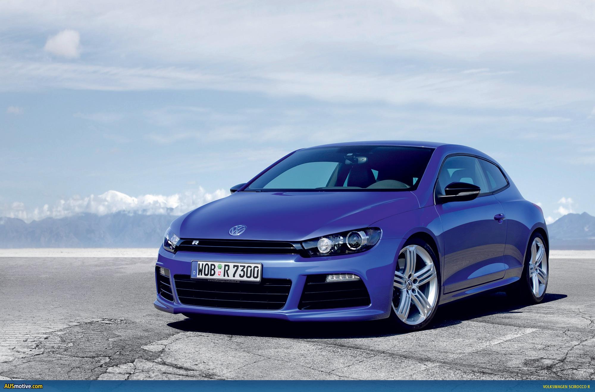 AUSmotivecom  Volkswagen Scirocco R  official details