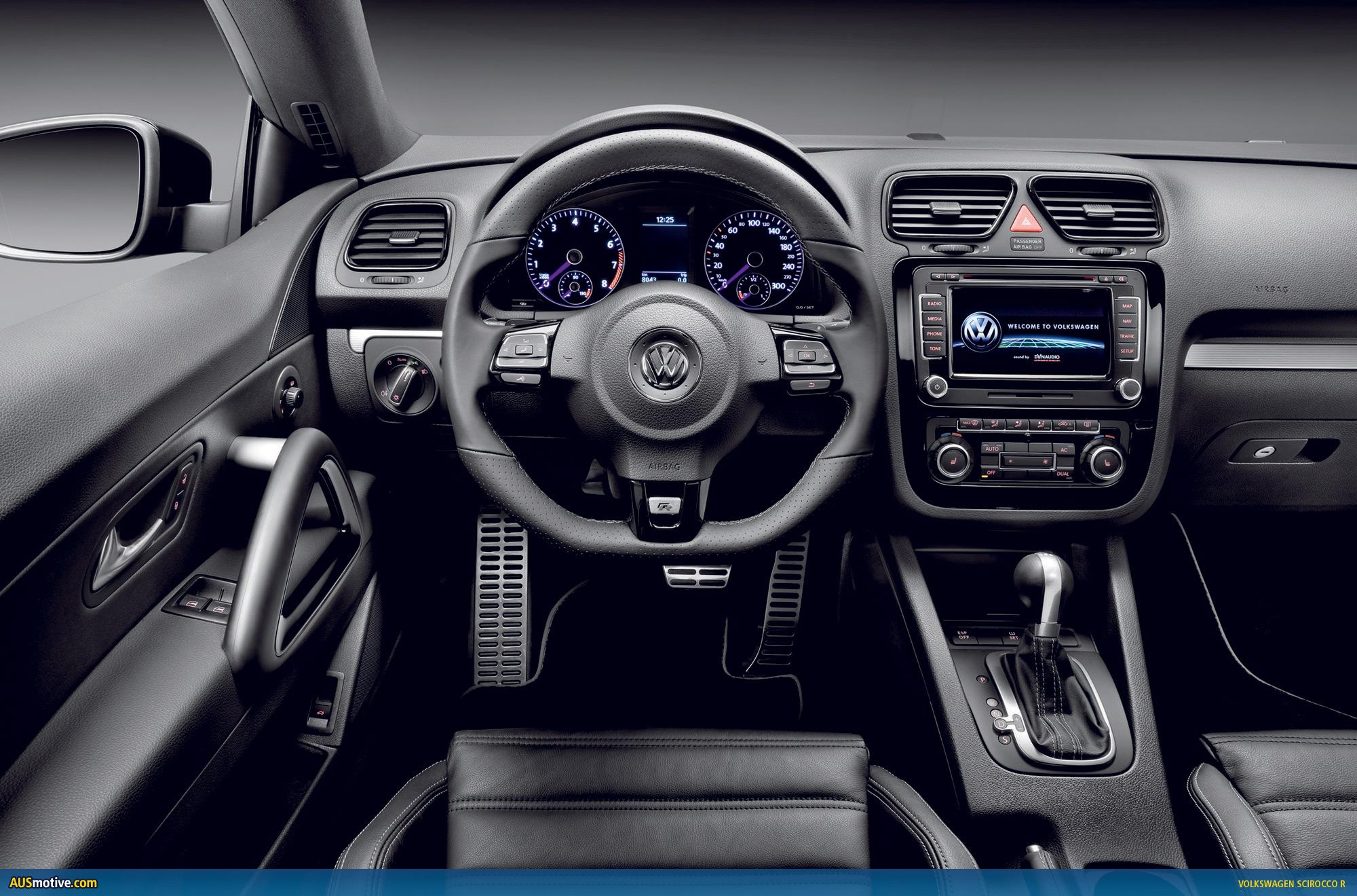 Volkswagen Scirocco R Black