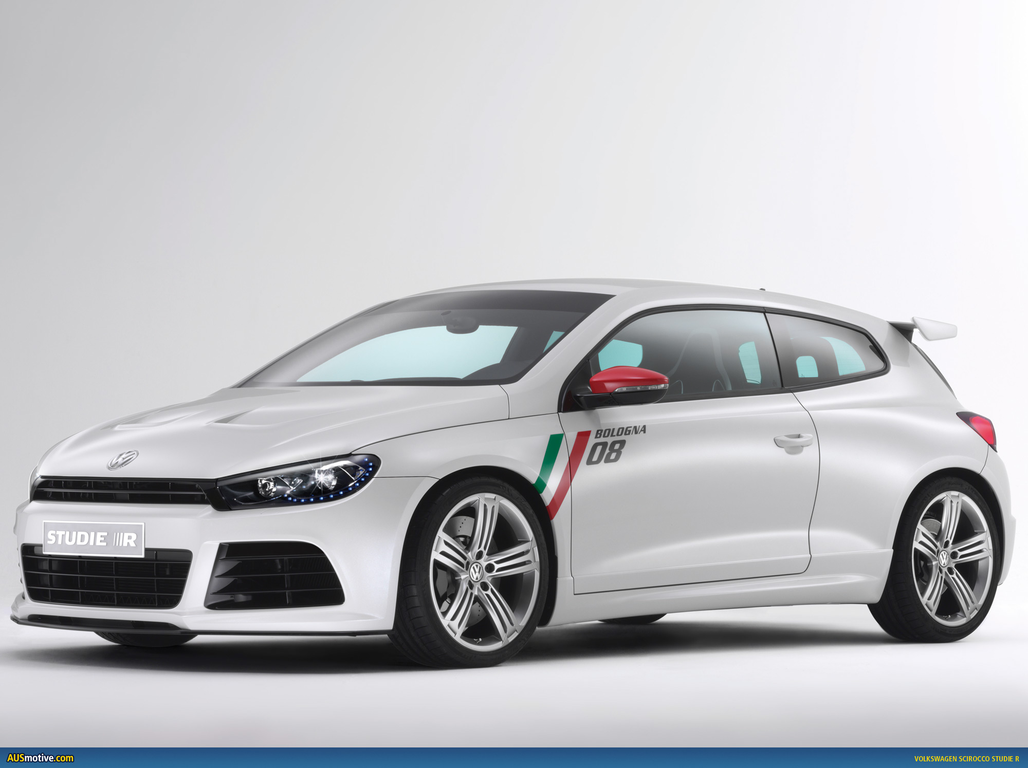 volkswagen scirocco studie r adds spice to bologna. Black Bedroom Furniture Sets. Home Design Ideas