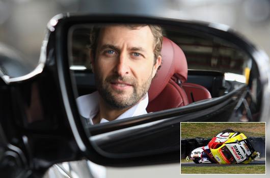 Steve Pizzati rolls his Aussie Racing Car