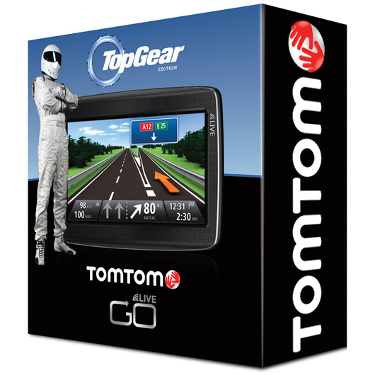 TomTom Top Gear limited edtion