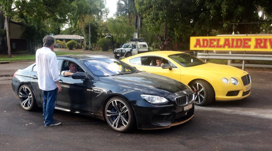Top Gear spotted filming in Australia