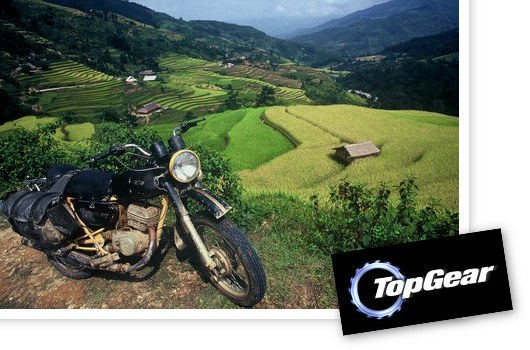 Top Gear visits Vietnam for motor cycle challenge