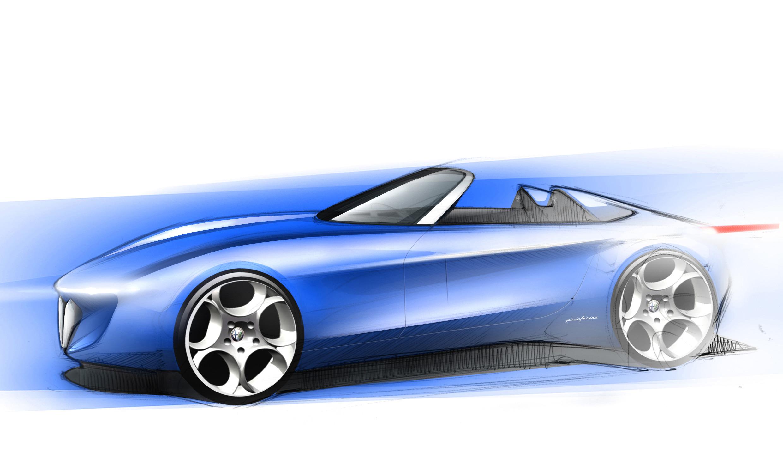 a new Alfa Romeo Spider