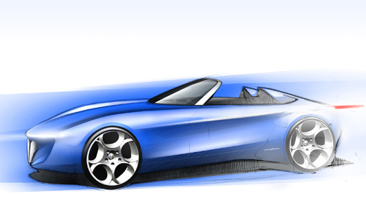 Alfa Romeo Pininfarina Spider Concept