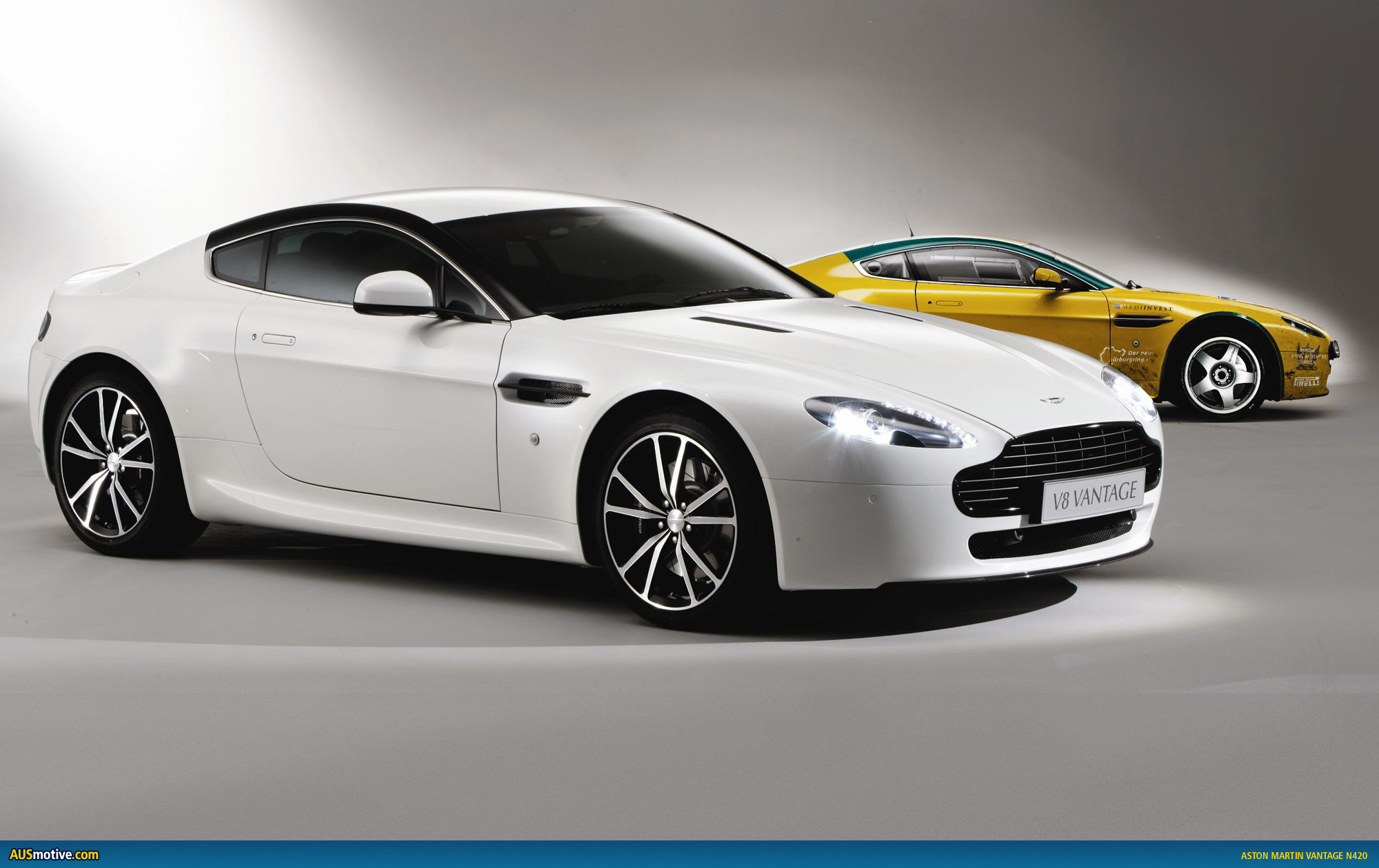 aston martin v8 vantage n420. Black Bedroom Furniture Sets. Home Design Ideas