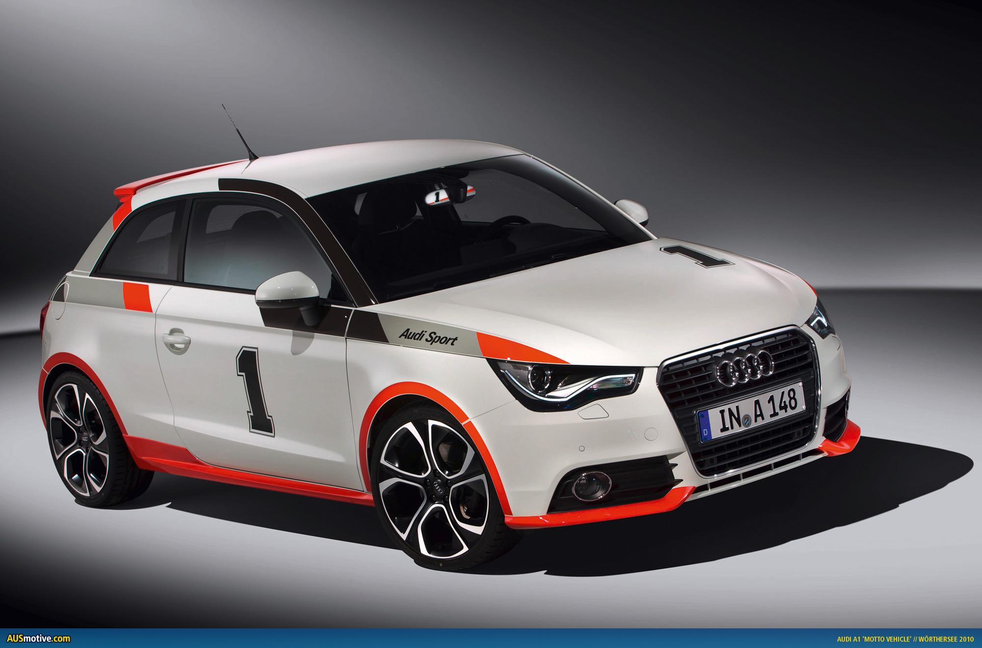 Ausmotive Com 187 Audi A1 Motto Vehicles To Debut At