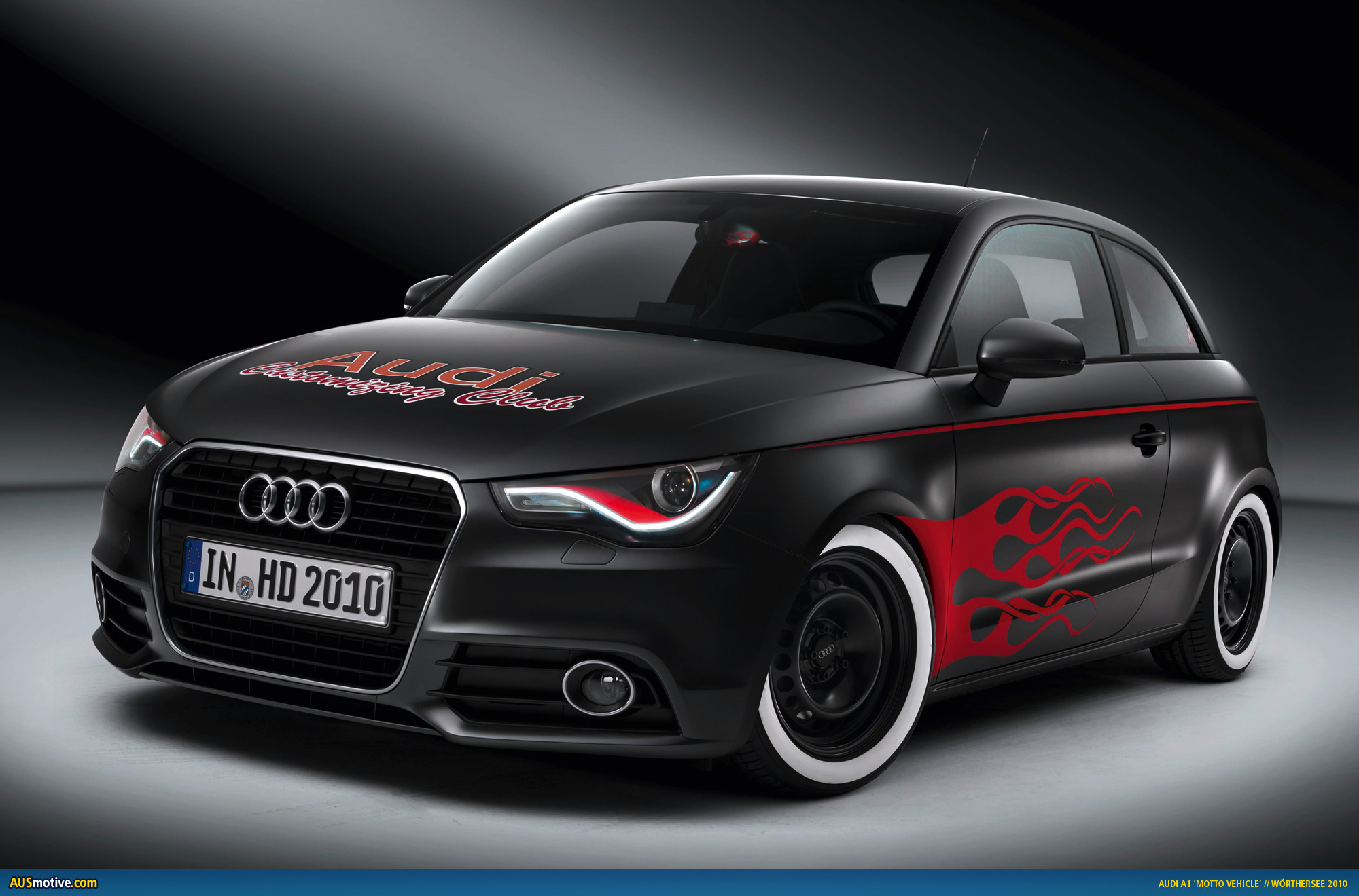 audi a1 motto vehicles to debut at w rthersee. Black Bedroom Furniture Sets. Home Design Ideas