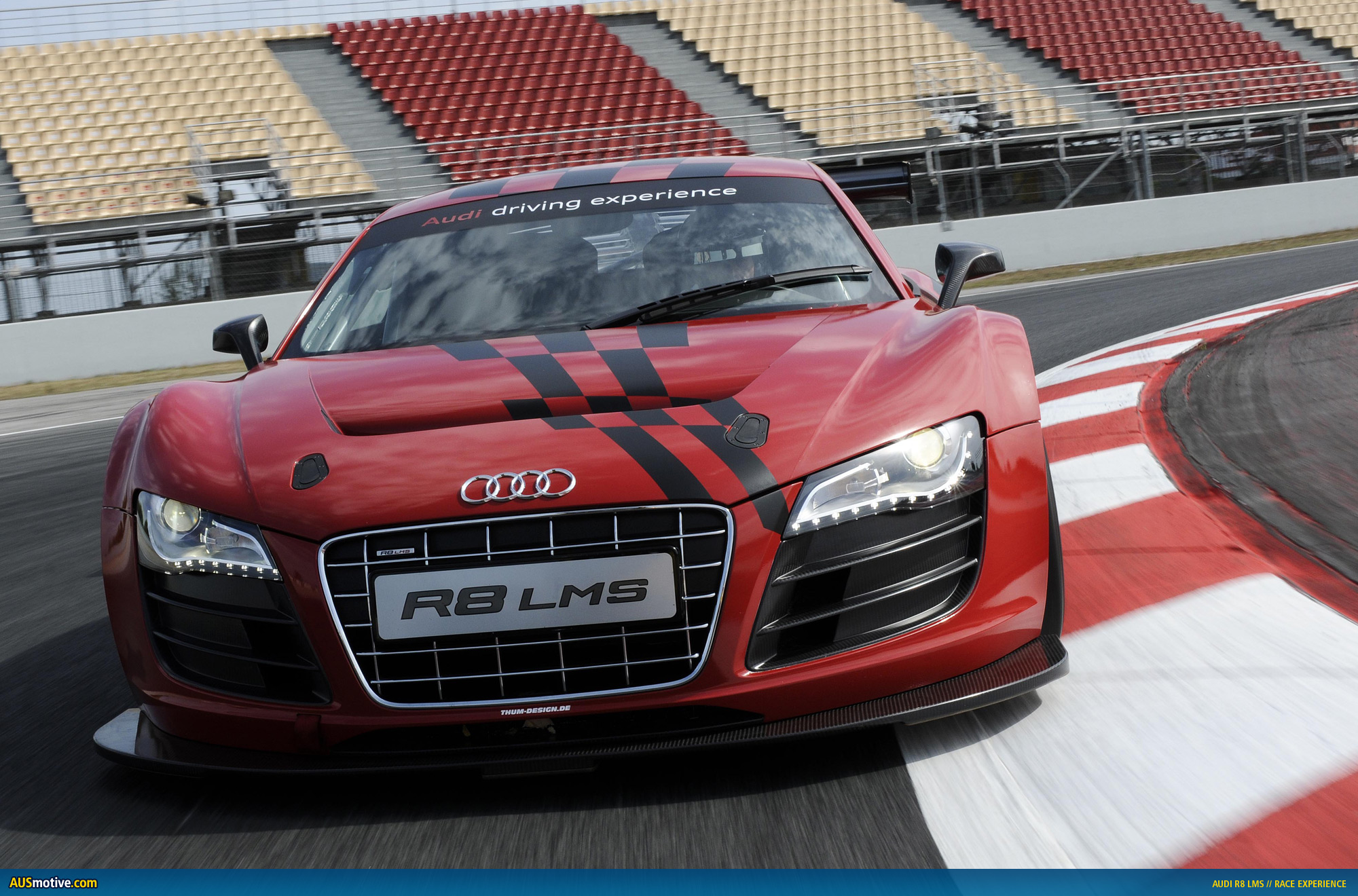 Audi customers can book racing