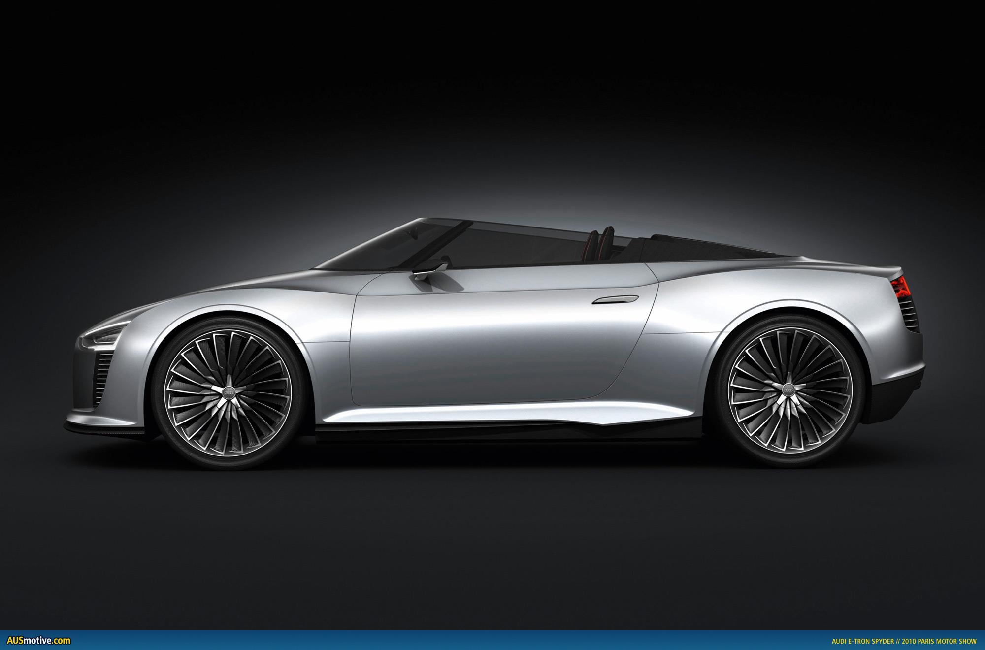 AUSmotive.com » Paris 2010: Audi e-tron Spyder