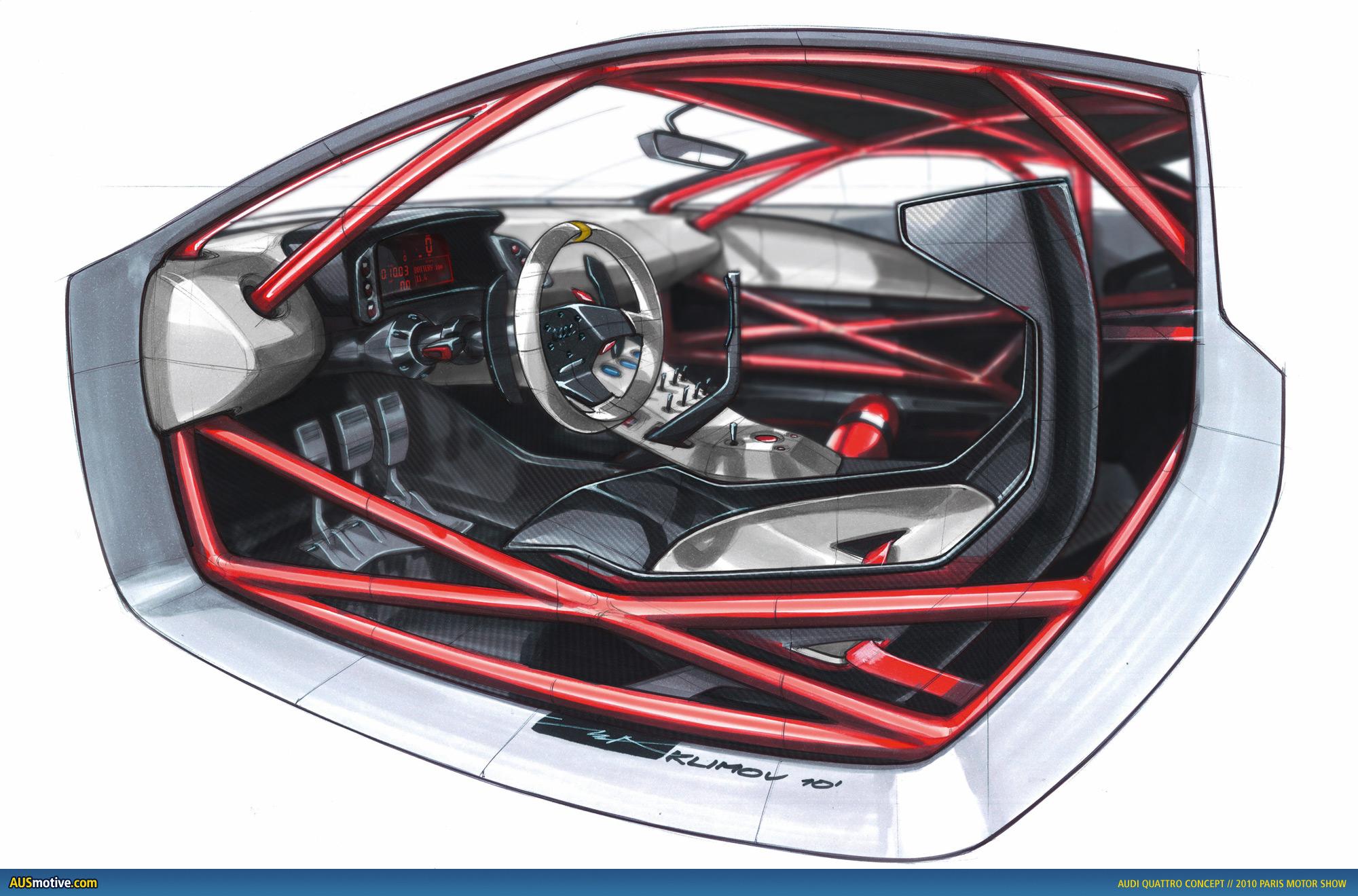 AUSmotive com » Paris 2010: Audi quattro concept