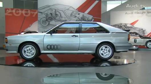 Audi 30 years of quattro