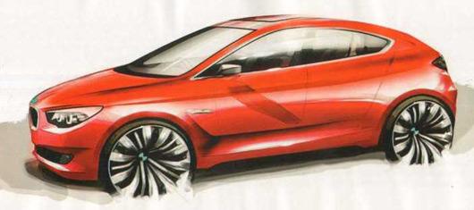 BMW '0 Series' sketch - via BimmerFile.com