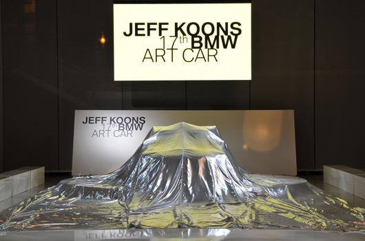 17th BMW Art Car - Jeff Koons