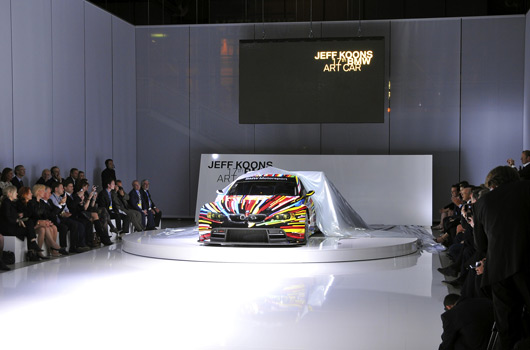 17th BMW Art Car - Jeff Koons
