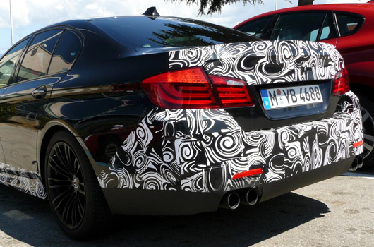BMW F10 M5 prototype