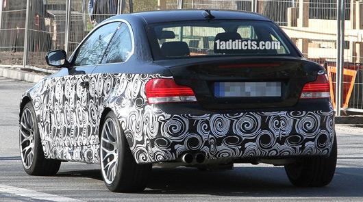 BMW 'M1' spy shot