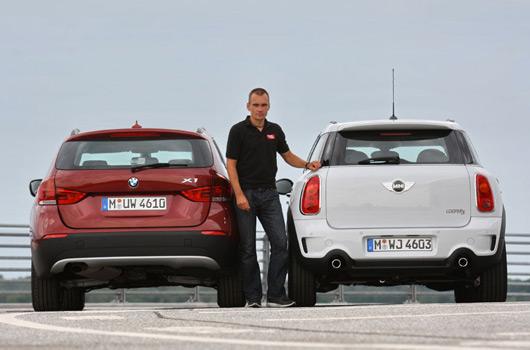 AUSmotivecom  BMW X1 v MINI Countryman