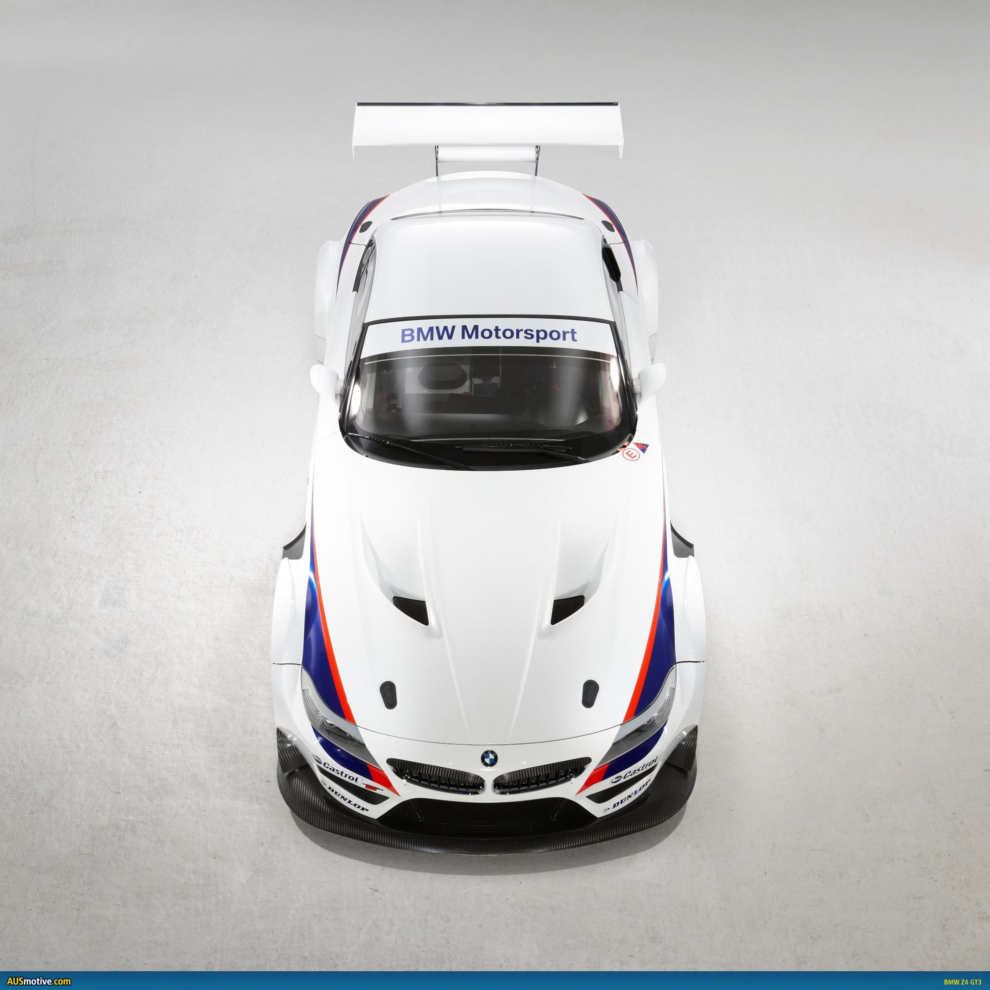 Bmw Z4 Price In Dubai: AUSmotive.com » BMW Finally Reveals Official Z4 GT3 Info