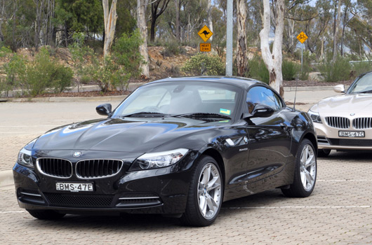 BMW Z4 dealer drive day