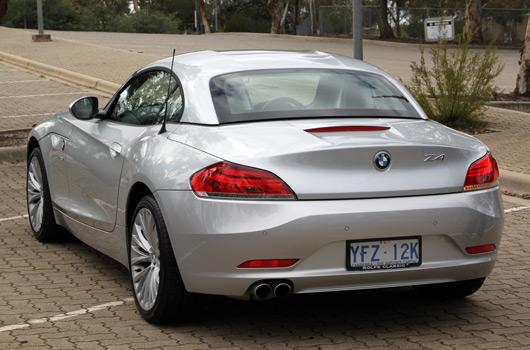 BMW Z4 dealer drive day