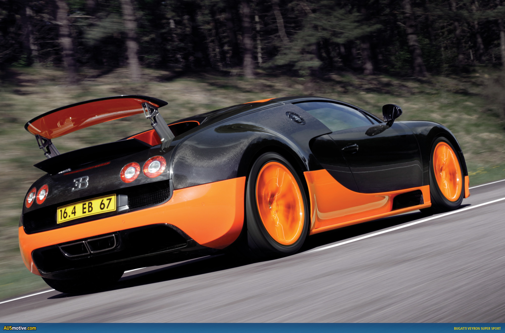 ausmotive 187 bugatti veyron sport sets new