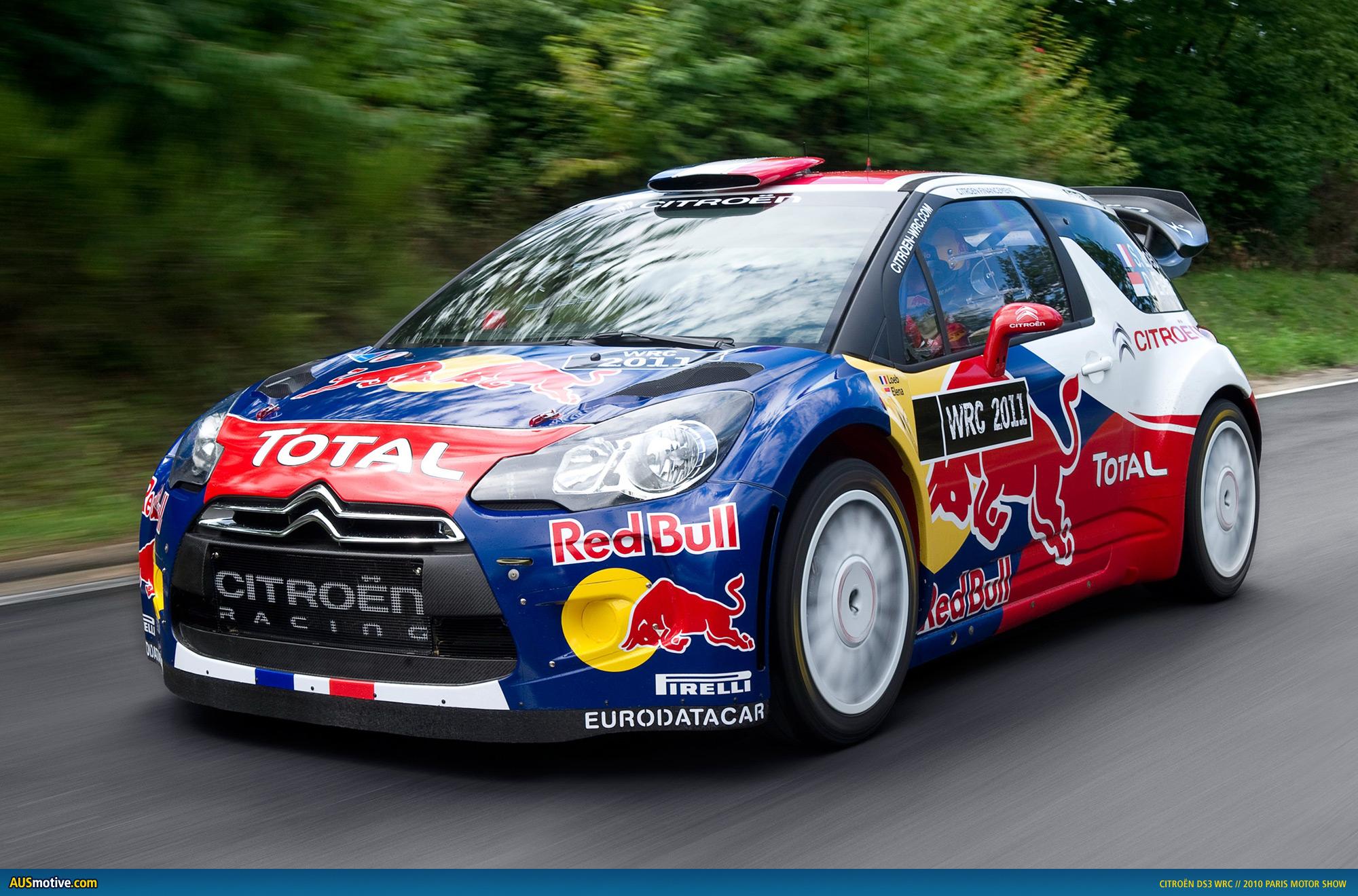 AUSmotive.com » Paris 2010: Citroën DS3 WRC