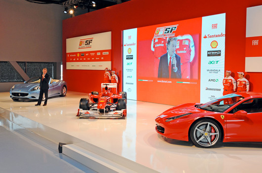 Ferrari F10 - 2010 F1 car