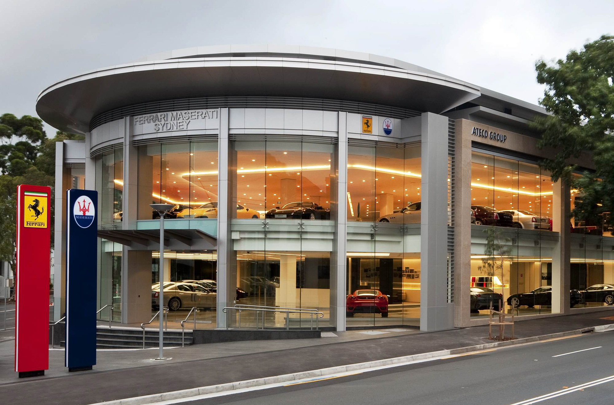 Ausmotive Com 187 Ferrari Maserati Sydney Open New Showroom