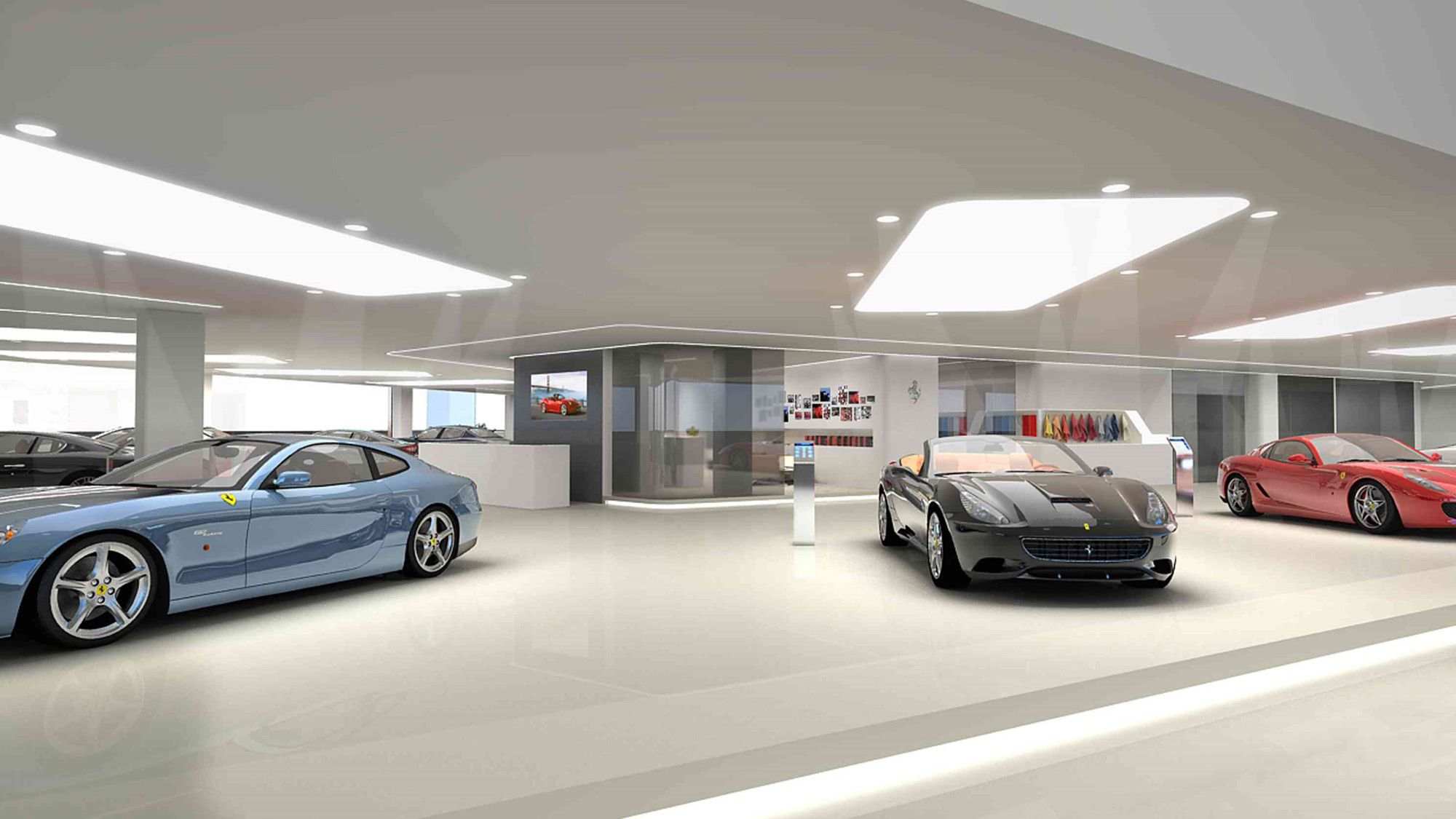 Ferrari Car Dealership Sydney
