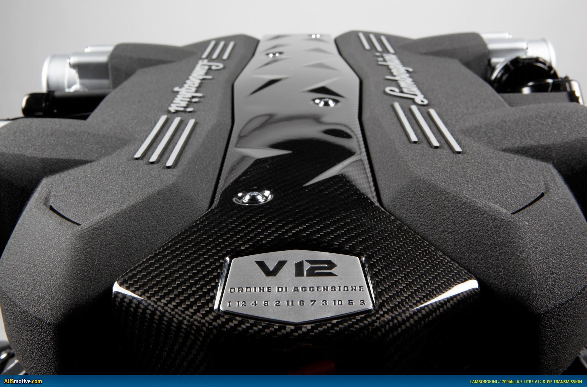 Lamborghini Reveals New 6 5 Litre V12