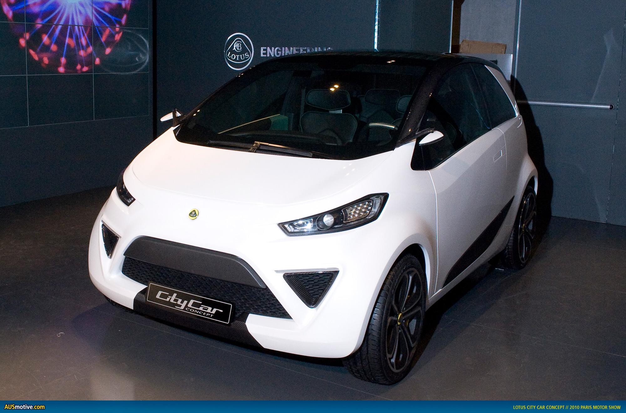ausmotive » paris 2010: lotus city car concept