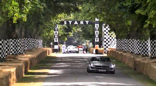 Mercedes SLS AMG @ Goodwood FoS