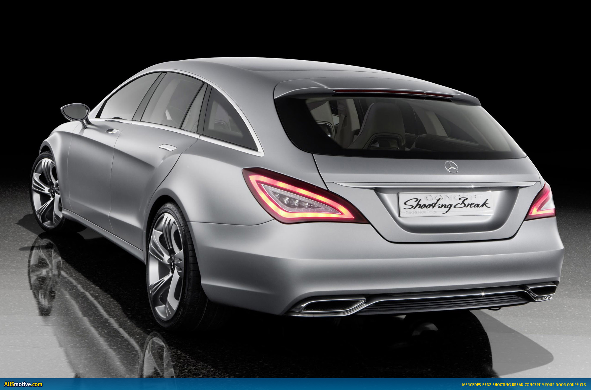 mercedes benz cls shooting brake given. Black Bedroom Furniture Sets. Home Design Ideas