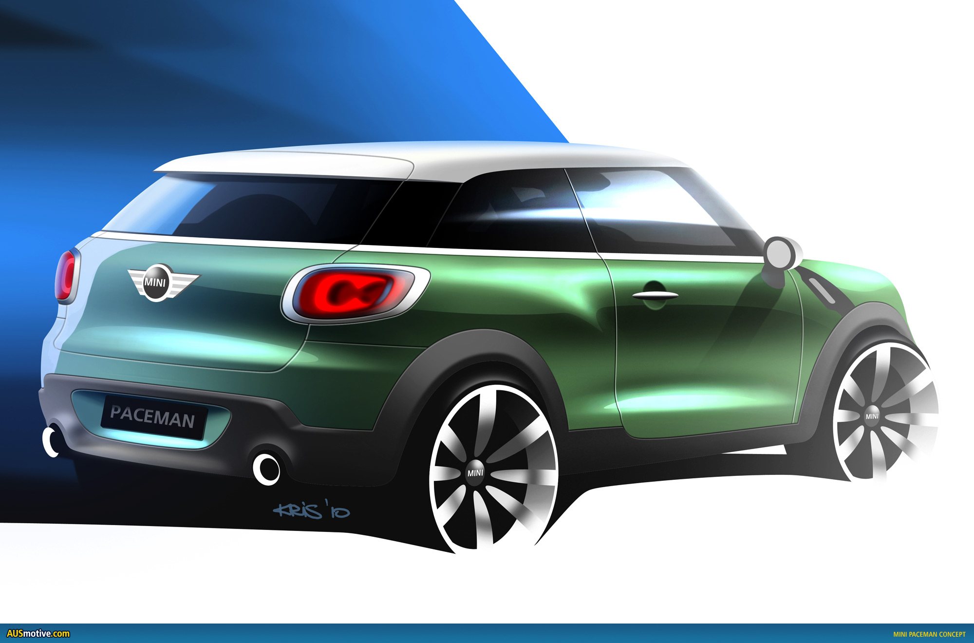 Ausmotivecom Mini Countryman Coupé Does Paceman U Turn