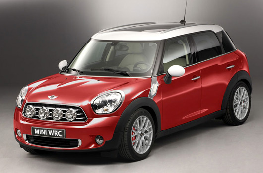 rumour mini wrc concept set for geneva motor show debut. Black Bedroom Furniture Sets. Home Design Ideas