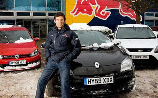 Mark Webber speaks with the Telegraph
