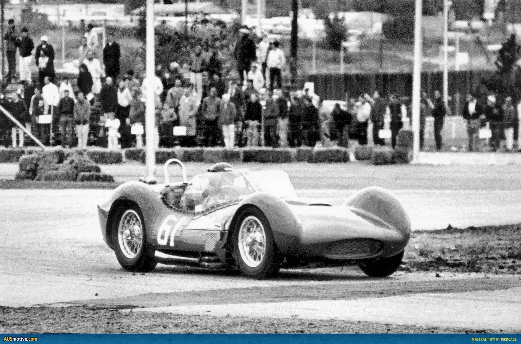 A rare 1960 Maserati Tipo 61
